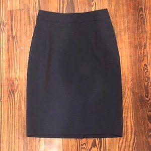 Theory navy pencil skirt